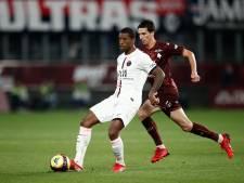 PSG zonder Messi pas in extra tijd langs Metz