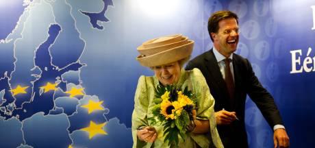 Mark Rutte doet boekje open over klunzig moment bij Beatrix
