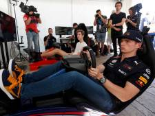 Max Verstappen stapt dit weekend wederom in virtuele racewagen