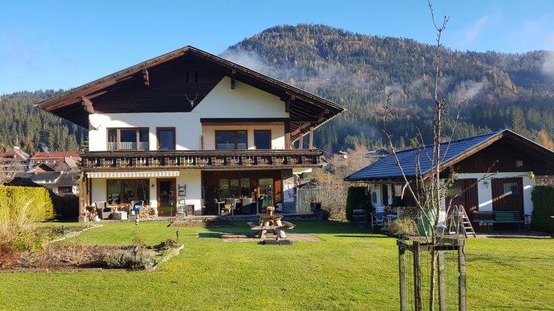 Het Berghaus Weissbriach in Zuid-Oostenrijk.