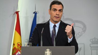 Spaans aftredend premier Sanchez mag nieuwe regering vormen