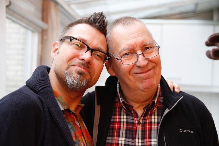 Peter en Jacques Nordin. Beeld rv