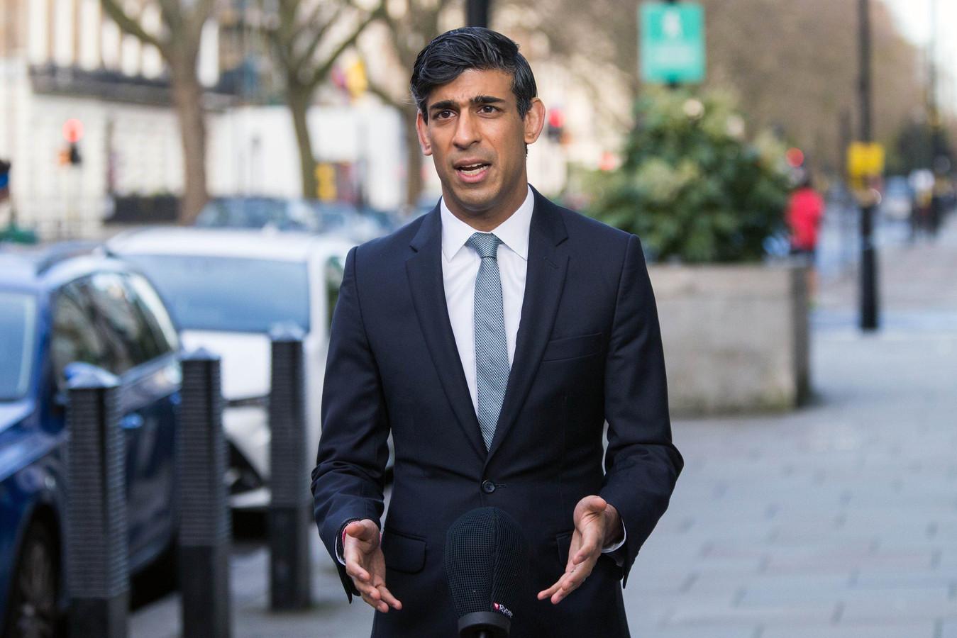 Le ministre britannique des Finances Rishi Sunak.