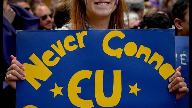 Geen meerderheid Britten voor nieuw referendum