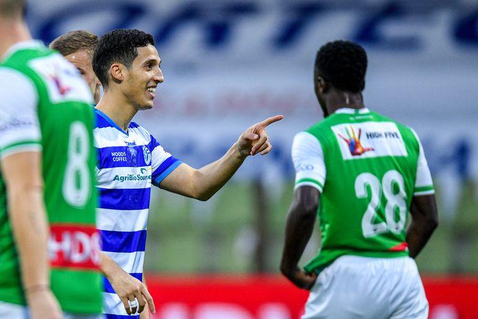Mohamed Hamdaoui, doelpuntenmaker in Dordrecht.