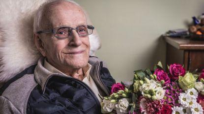 Gustavus, de oudste man van België, is overleden