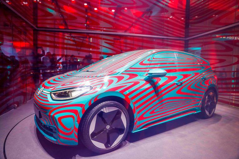 De volledig elektrische Volkswagen ID 3 moet het merk van zijn roetige imago afhelpen. Beeld null