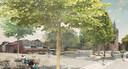 Zo gaat het centrum van Wechelderzande eruit zien.