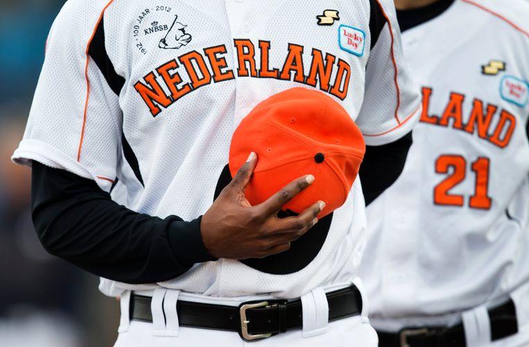 Het 'Team Kingdom of the Netherlands' stevent in Italië af op een nieuwe EK-finale tegen het gastland.  Beeld ANP