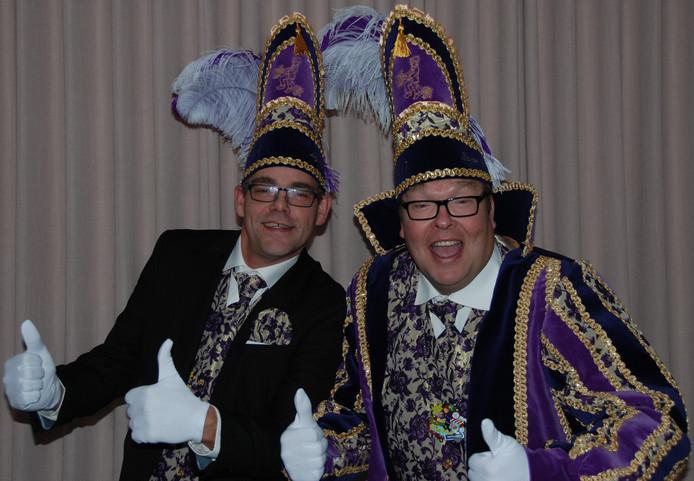 Onder aanvoering van baron Remco en zijn adjudant Martin gaan de Tuffelkeerlkes het nieuwe carnavalsseizoen in.