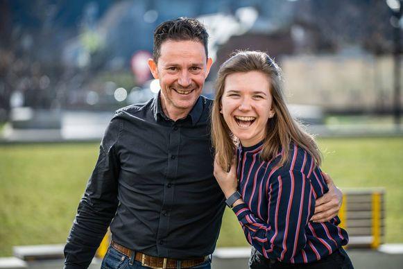 Stef Grosjean en Shawny Vanhoutteghem zijn de nieuwe voorzitter en secretaris van Sp.a Grimbergen.