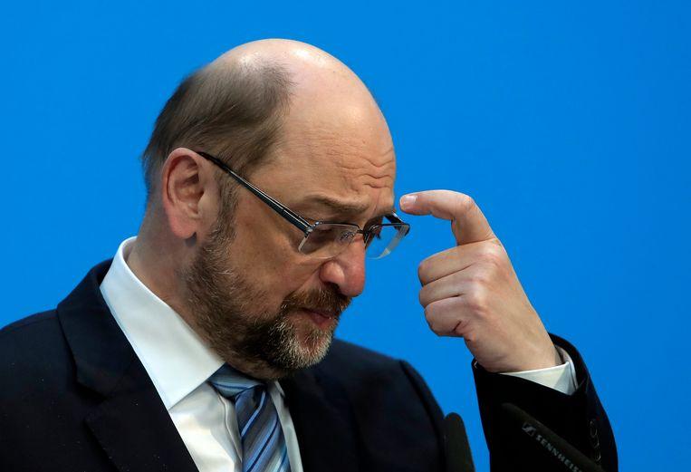 Martin Schulz. Beeld AP