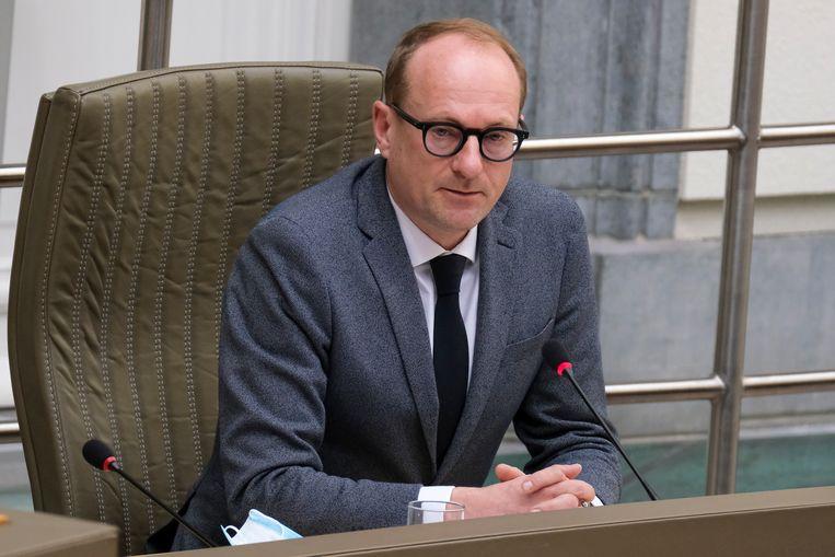 Vlaams minister van Onderwijs Ben Weyts (N-VA). Beeld BELGA