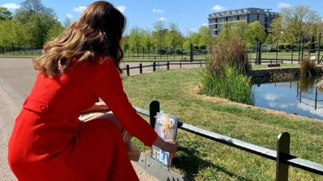 Kate Middleton verstopt kopieën van haar nieuwe boek op openbare plaatsen