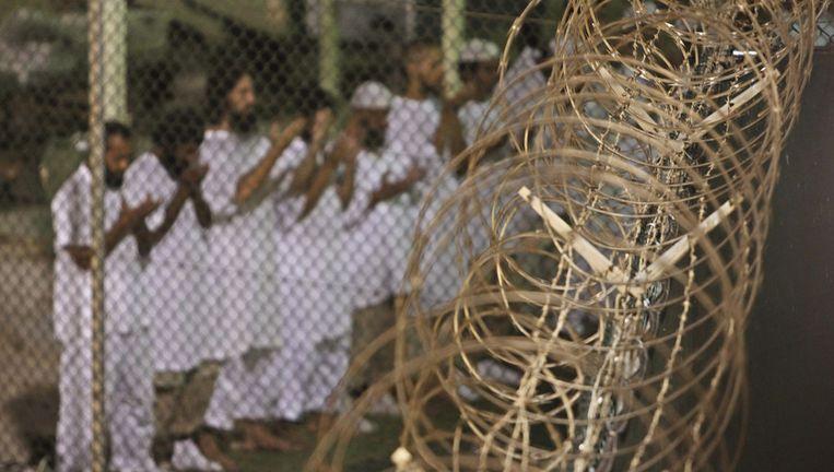 Een detentiekamp op Guantánamo Bay, Cuba Beeld ap
