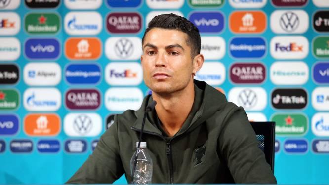 Voedingscentrum juicht om wateractie Ronaldo: 'Hier kan ons marketingbudget niet tegenop'