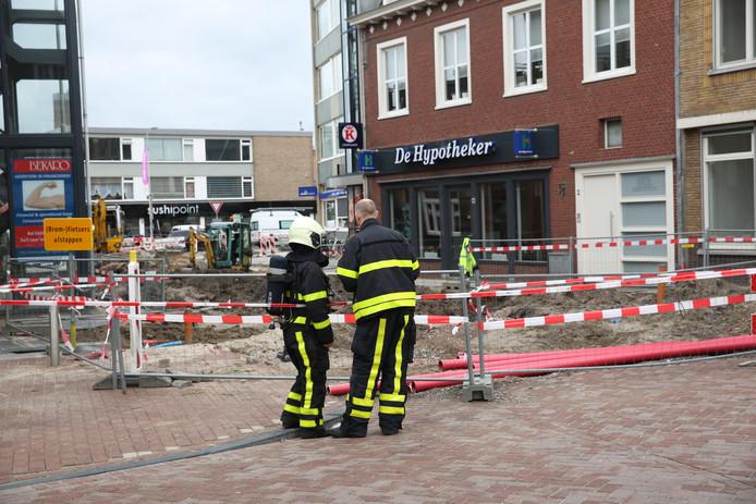 Gaslek in Roosendaal.