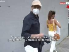 """""""Ton travail est une honte"""": Zidane s'énerve contre un journaliste en pleine rue"""