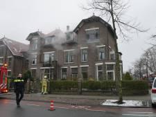 Veel rookontwikkeling bij woningbrand in Deventer