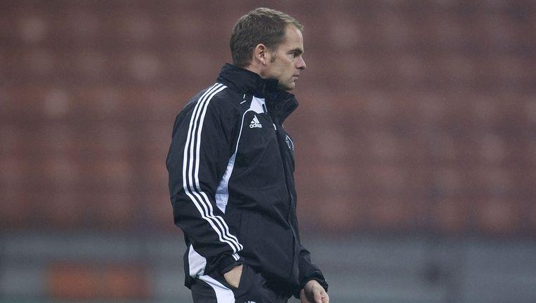 De interim-coach van Ajax, Frank de Boer. Beeld anp
