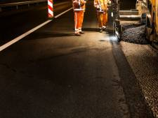 Deel A15 eind maart zeven avonden en nachten afgesloten voor onderhoud