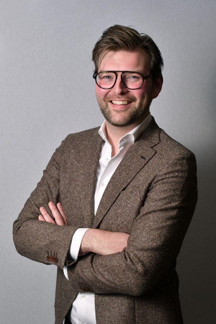 Pim Lindeman, chef van de redactie Almelo