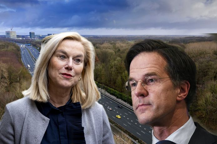 Sigrid Kaag (D66) en Mark Rutte (VVD) zullen tijdens de formatie nieuwe stikstofafspraken moeten maken.
