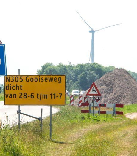 Drukke Gooiseweg in Flevoland wordt helemaal vierbaans, nog even overlast maar dan is het werk klaar