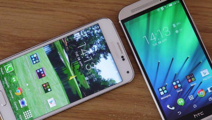 Samsung en HTC zijn de grote blikvangers van het MWC 2015
