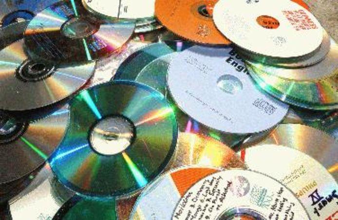 Oude cd's.