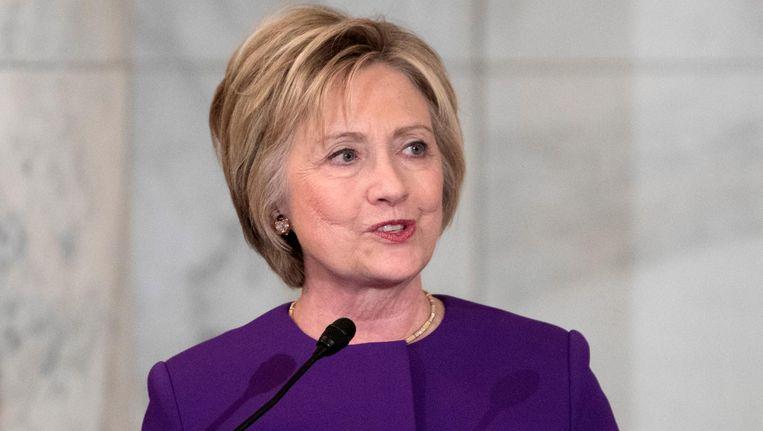 Erg schokkende onthullingen bevatten de mails niet, maar ze deden wel afbreuk aan het imago van presidentskandidate Hillary Clinton. Beeld epa