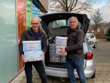 Lions Heusden stelt honderd kerstpakketten samen