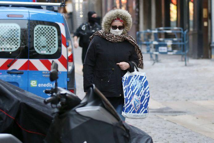 Cécile Bourgeon arrivant mercredi au palais de justice, à Lyon