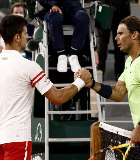 """Djokovic après sa victoire épique face à Nadal: """"Ce match entre dans le top 3 des meilleurs matchs de ma carrière"""""""