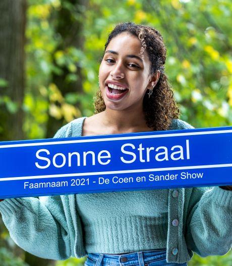 Sonne Straal (20) wint Faamnaam-verkiezing: 'Donder is ook nog een leuke naam voor een zoon'