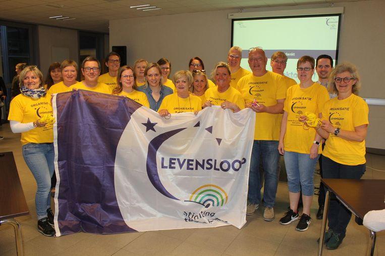 De vrijwilligers van Levensloop zijn alvast klaar om er de beste editie ooit van te maken.