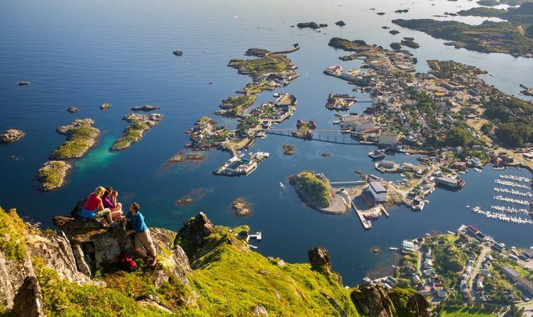 Svolvaer, de hoofdstad van de Lofoten Beeld CH - Innovation Norway