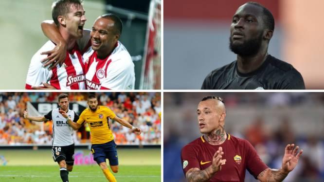 Herbeleef de eerste avond Champions League met niet minder dan 28 goals, waarbij ook drie Belgische treffers