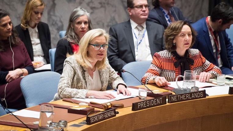 Minister Kaag leidt donderdag in New York de eerste vergadering van de VN-Veiligheidsraad onder voorzitterschap van Nederland sinds 2000. Beeld Loey Felipe / UN Photo