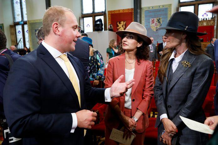 Het Bredase VVD-Kamerlid Thierry Aartsen op Prinsjesdag in 2019.