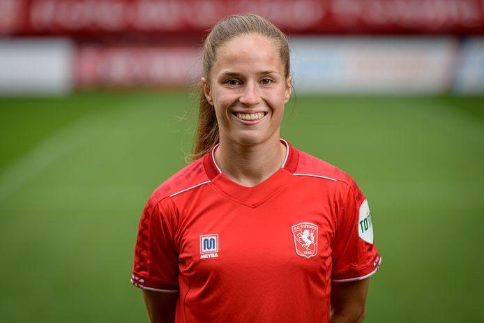 Marisa Olislagers zette FC Twente Vrouwen op gelijke hoogte.