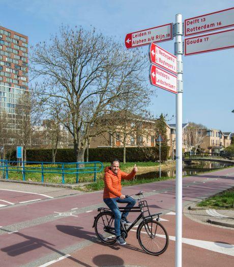 Zoetermeerse fietsers krijgen een eigen ringweg, verdwalen kan niet meer!