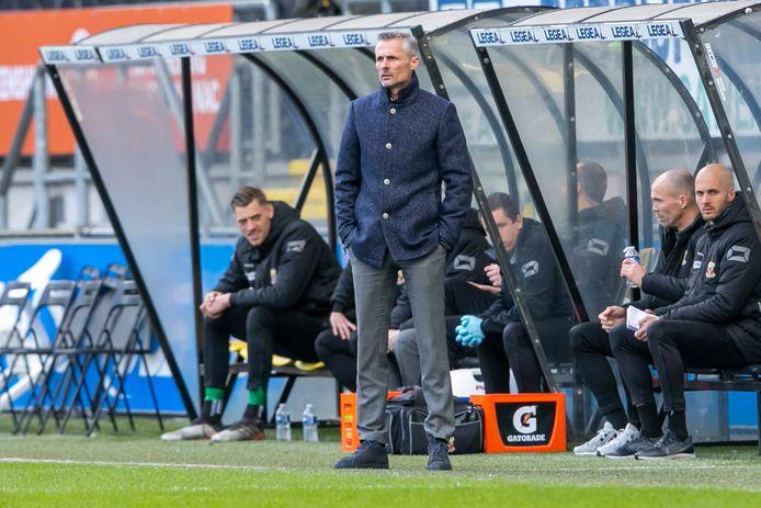 Kees van Wonderen staat zondag met Go Ahead Eagles tegenover De Graafschap.