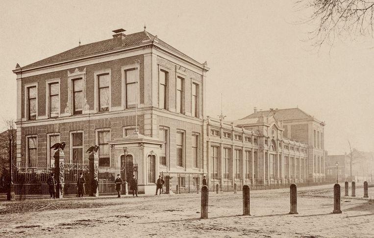 De Plantage toen die nog Ledenlokalen heette, waarschijnlijk 1874 Beeld Stadsarchief Amsterdam
