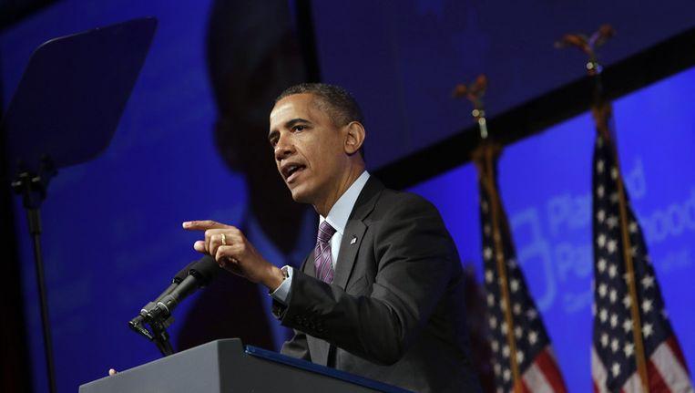 Obama waarschuwt Syrië. Beeld GETTY