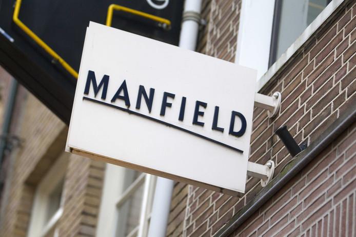 Een filiaal van Manfield in Utrecht.