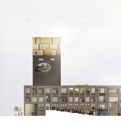 Gemeente overweegt woningen te bouwen bovenop het Honigcomplex in Nijmegen