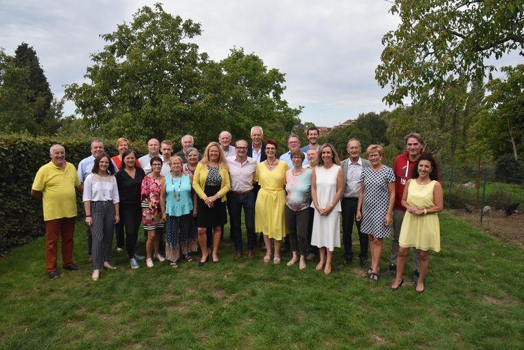 De Beerselse N-VA kandidaten.