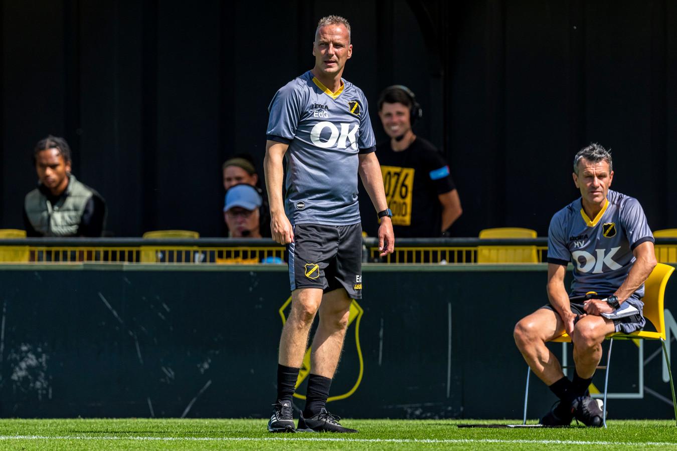 NAC-trainer Edwin de Graaf.