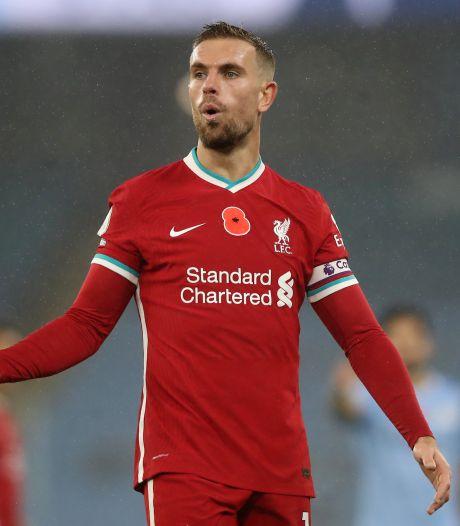 Liverpool ziet alleen Henderson terugkeren voor duel met Ajax